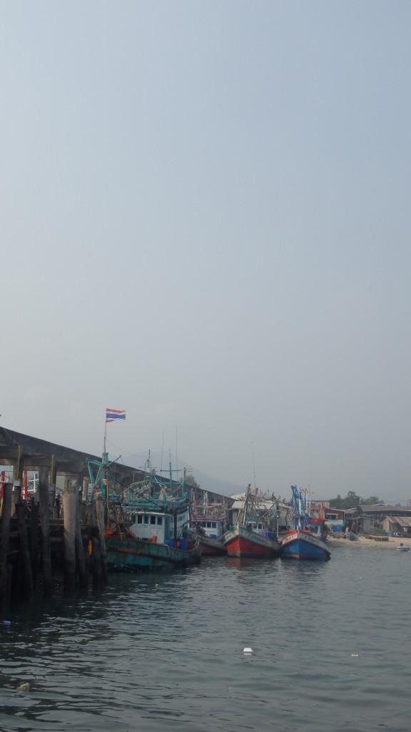 Embarcadère pour aller sur Kho Samet
