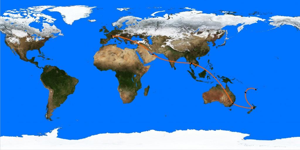 planisphere 12-01 trajet