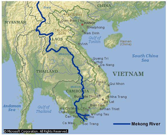 MekongMap
